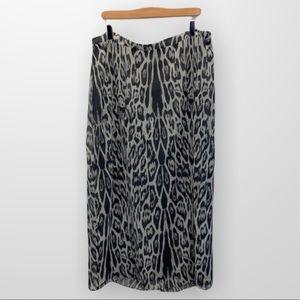 CHRISTOPHER & BANKS Midi Skirt Size 16